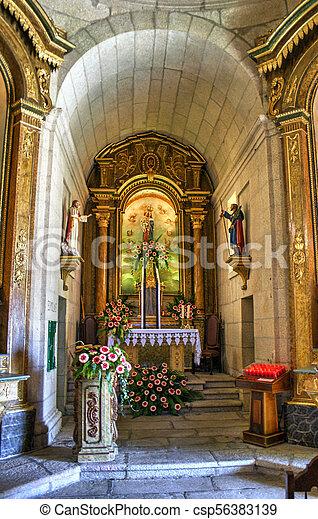 Baroque chapel of Senhora da Graca - csp56383139