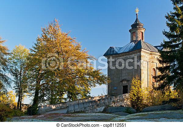 Baroque Chapel - csp8112551
