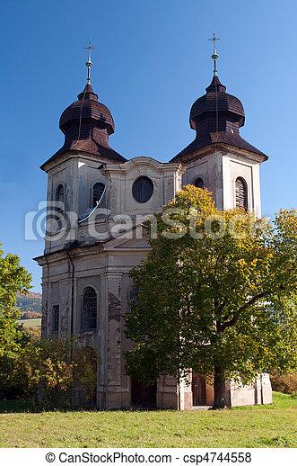 Baroque Chapel - csp4744558