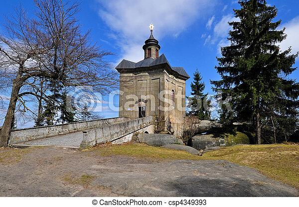 Baroque Chapel - csp4349393