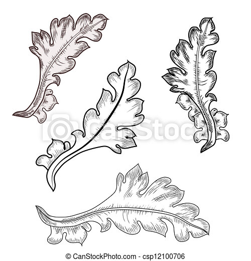 Baroque design elements vector clipart search for Baroque design elements