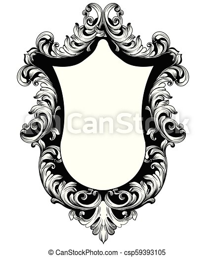 Mirror frame vector Victorian Style Baroque Mirror Frame Vector French Luxury Rich Intricate Ornaments Victorian Royal Style Decors Can Stock Photo Baroque Mirror Frame Vector French Luxury Rich Intricate Ornaments