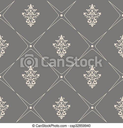 Baroque Modern Wallpaper In Style Eps