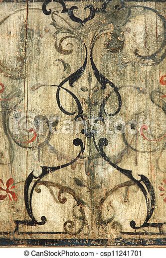 Baroque Ornament - csp11241701