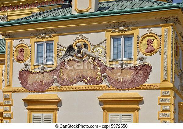 Baroque Solar Clock - csp15372550
