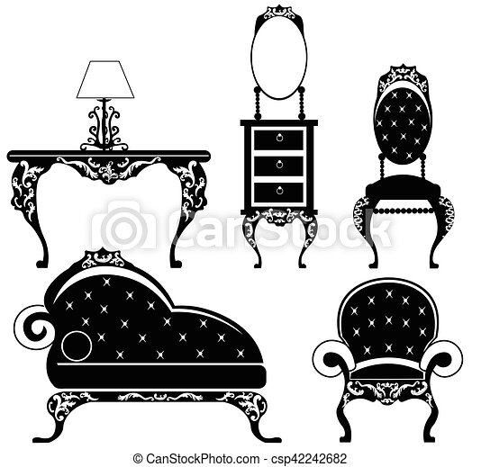 Baroque Style Furniture Set   Csp42242682
