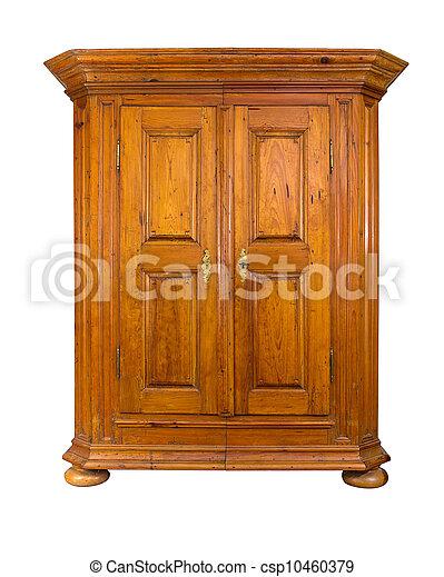 baroque wooden cabinet - csp10460379