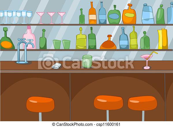 Dibujos de bar - csp11600161