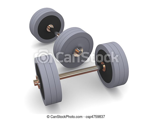 Barbell - csp4759837