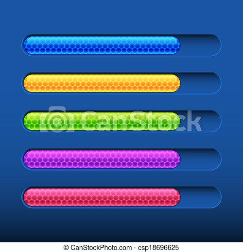 Bar de progreso - csp18696625