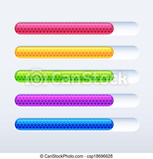 Bar de progreso - csp18696628