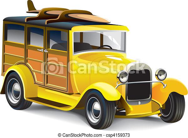 barra quente, amarela - csp4159373