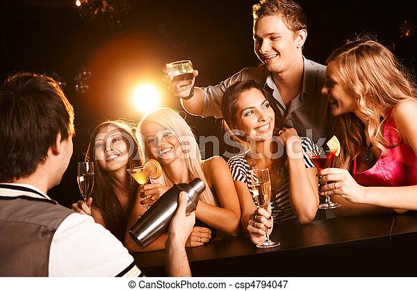 En el bar - csp4794047