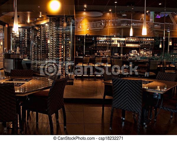 Barra de vinos - csp18232271