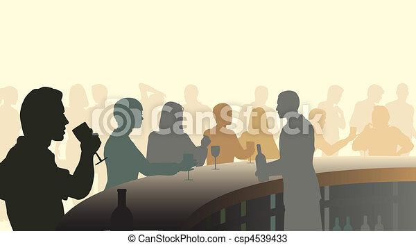 Bar de vino - csp4539433