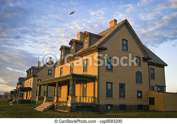 Barracks Home - csp9583290