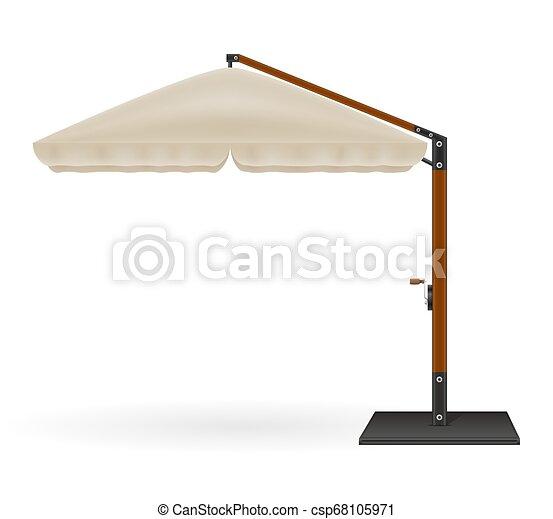 Sombrilla Solar Grande Para Bares Y Cafés En La Terraza O La