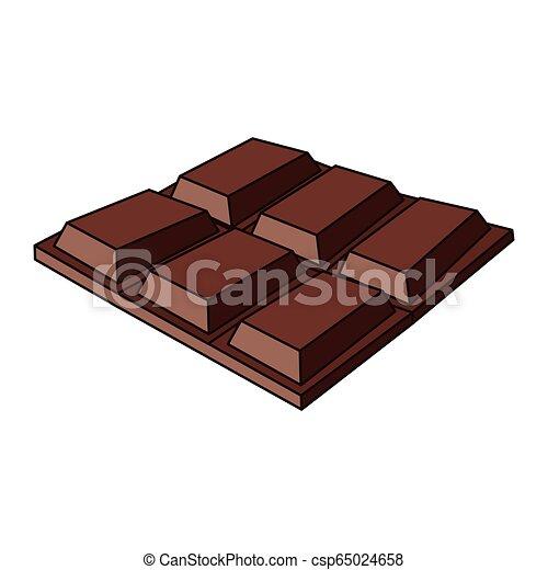 barre, délicieux, chocolat - csp65024658
