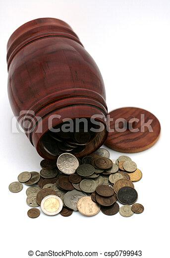 barrel and coins-3 - csp0799943