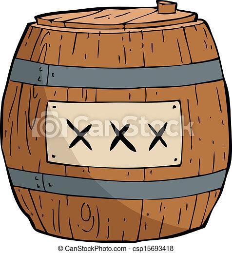 Barrel of gunpowder - csp15693418
