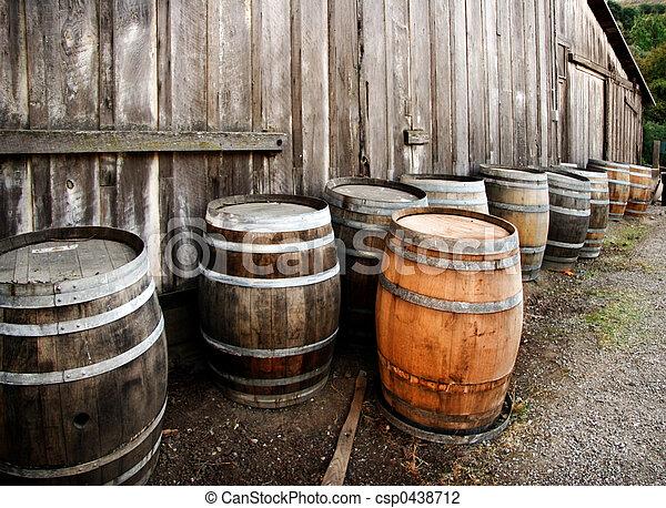 Barrels - csp0438712