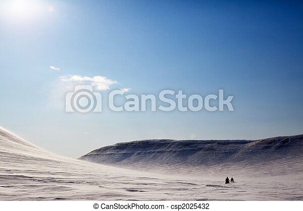 Barren Winter Landscape - csp2025432