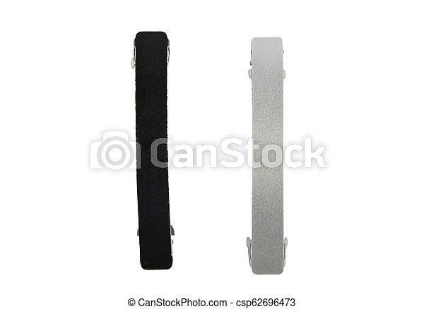 Barrettes on white background - csp62696473