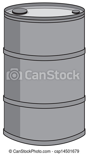 Barril de aceite - csp14501679