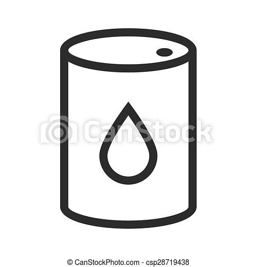 barril, aceite - csp28719438