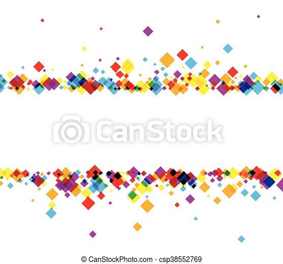 barva, rhombs., grafické pozadí - csp38552769