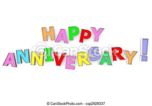 barwny, rocznica, szczęśliwy - csp2928337