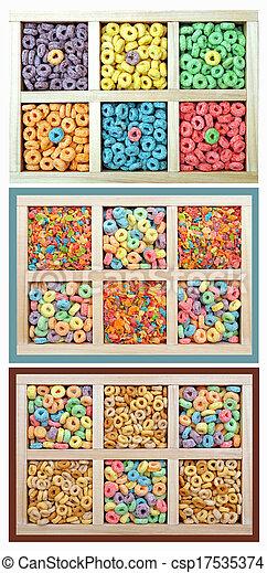 barwny, zboże - csp17535374