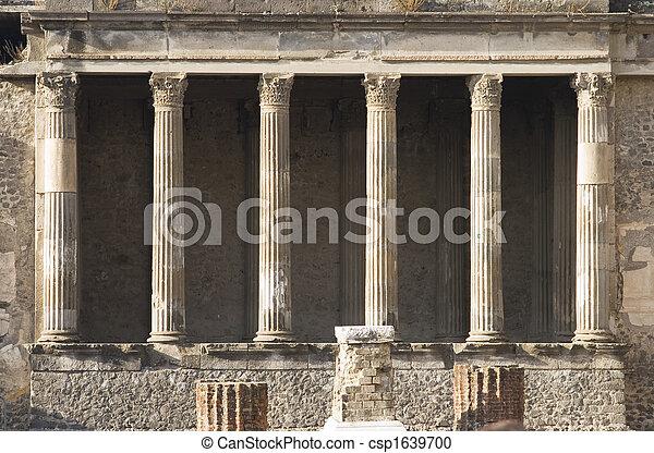 Pompeii basilica - csp1639700