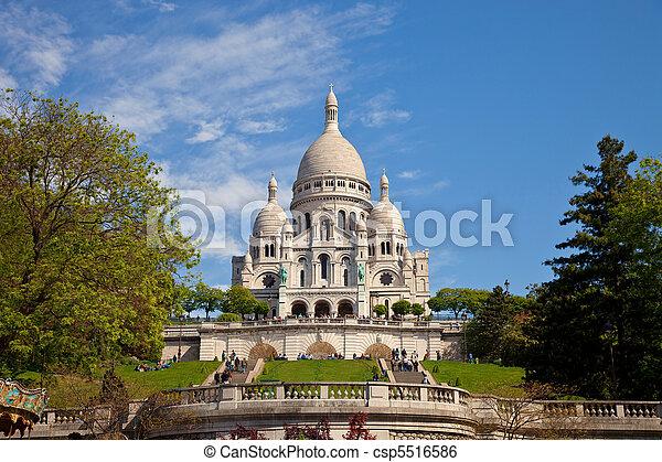 Basilica sacre-coeur - csp5516586