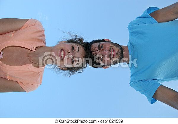 bas, couple, montre - csp1824539
