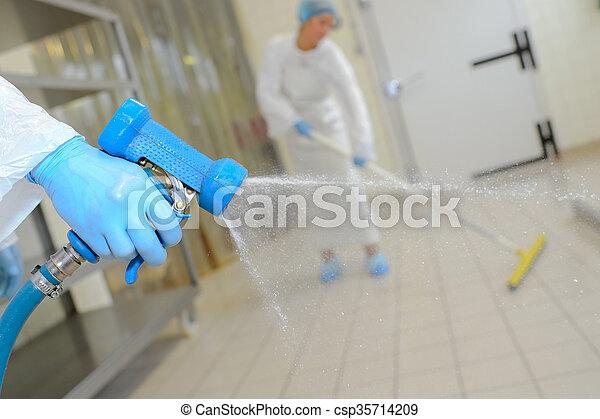 bas, laver, usine - csp35714209