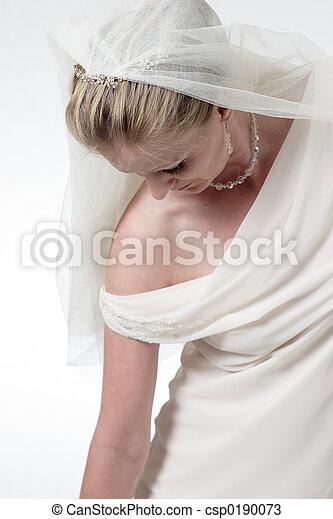 bas, mariée, atteindre - csp0190073