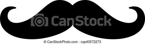 bas, moustache - csp43572273