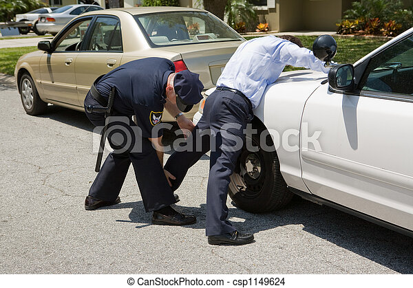 bas, police, caresse - csp1149624