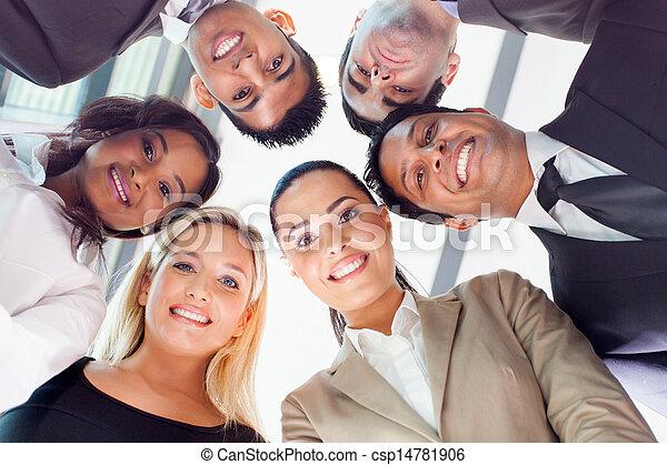 bas, regarder, groupe, professionnels - csp14781906