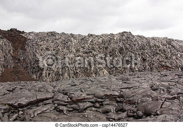 Basaltic lava - csp14476527