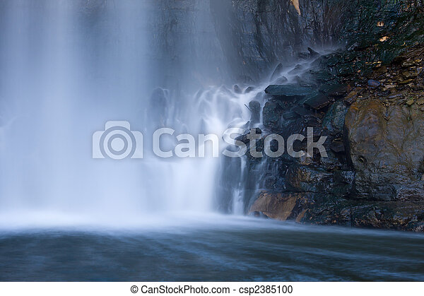 Base of a Waterfall - csp2385100