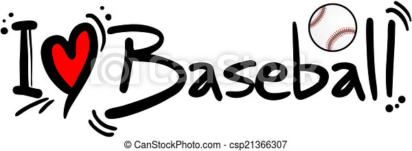 baseball, amore - csp21366307