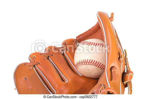 Baseball And Glove - csp0922777