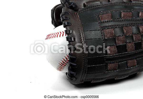 Baseball and Glove - csp0005566