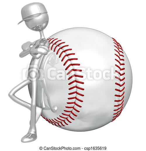 Baseball Attitude - csp1635619