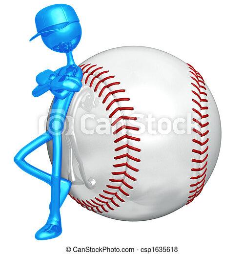 Baseball Attitude - csp1635618