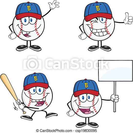 Baseball Ball 2 Collection Set - csp19830095