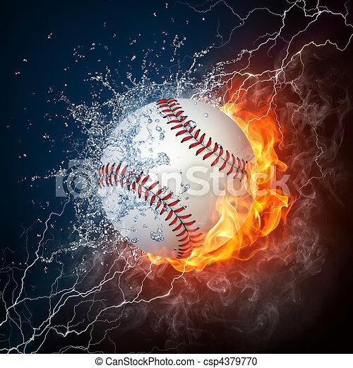 Baseball Ball - csp4379770