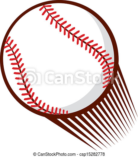 baseball ball vectors illustration search clipart drawings and rh canstockphoto ca baseball bat hitting ball clipart baseball player hitting ball clipart